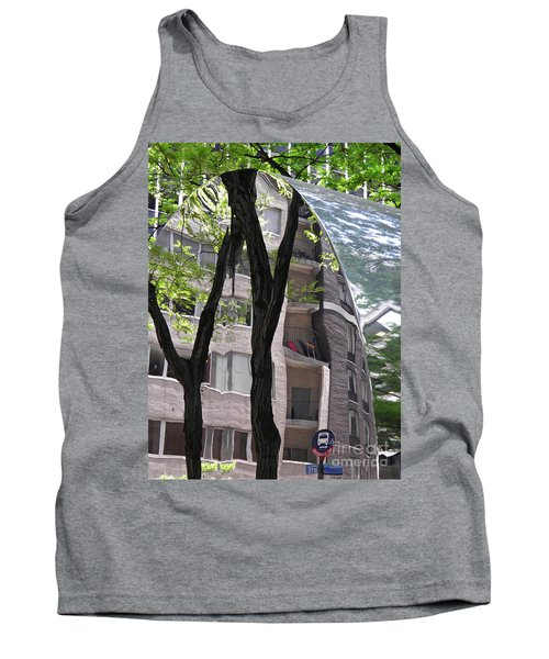 Tank Top featuring the photograph East West Gate 4  by Sarah Loft