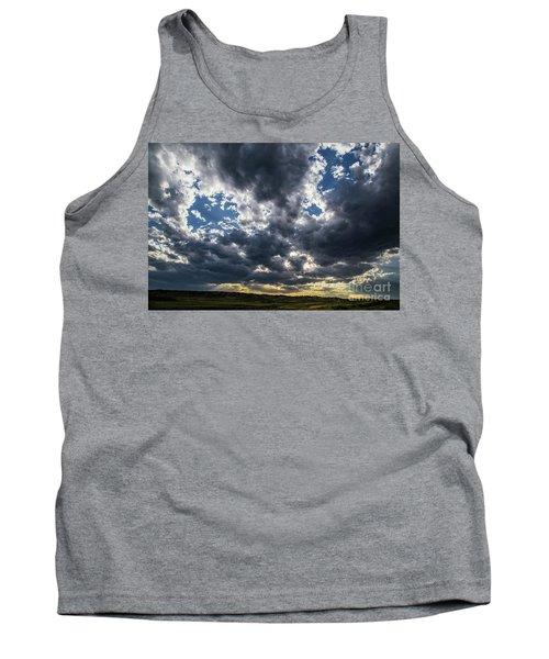 Eastern Montana Sky Tank Top by Shevin Childers