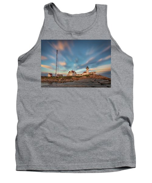 Eastern Point Lighthouse At Sunset Tank Top