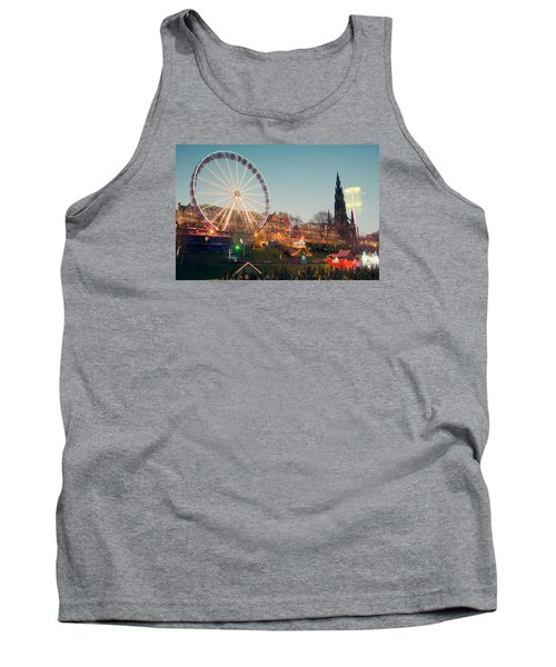 Edinburgh And The Big Wheel Tank Top