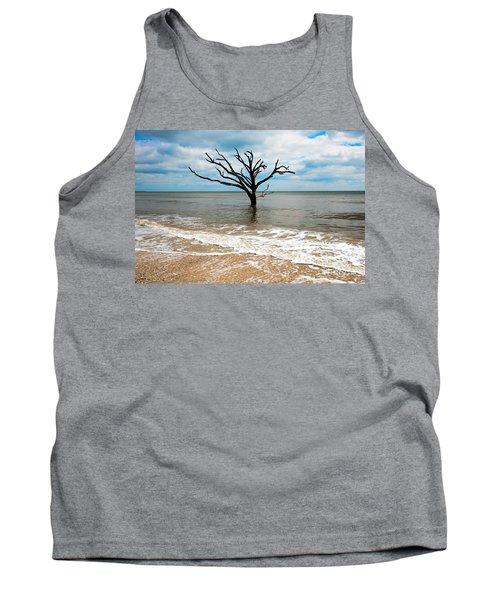 Edisto Island Tree Tank Top by Robert Loe