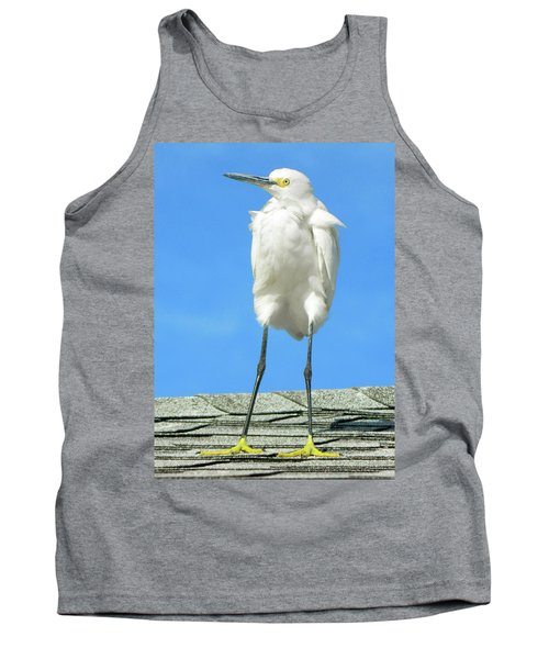 Egret Focused And Poised Tank Top