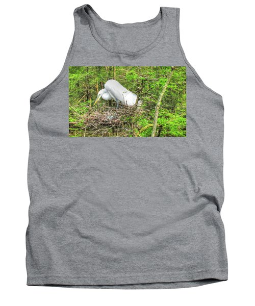 Egrets And Eggs Tank Top