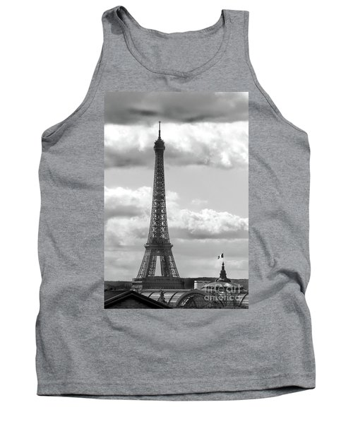 Eiffel Tower From Galeries Lafayette Rooftop Tank Top