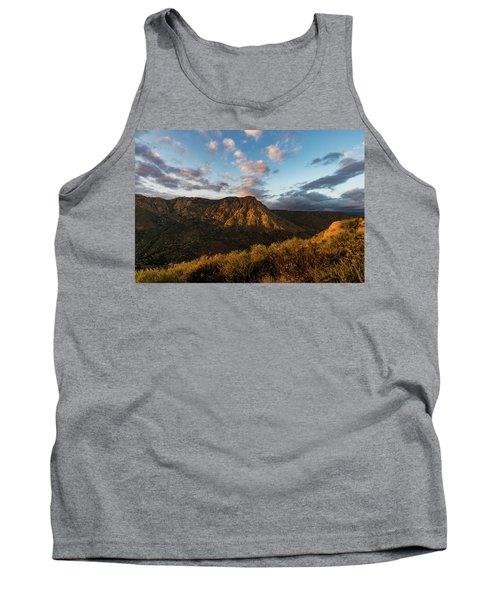El Cajon Mountain Last Light Tank Top