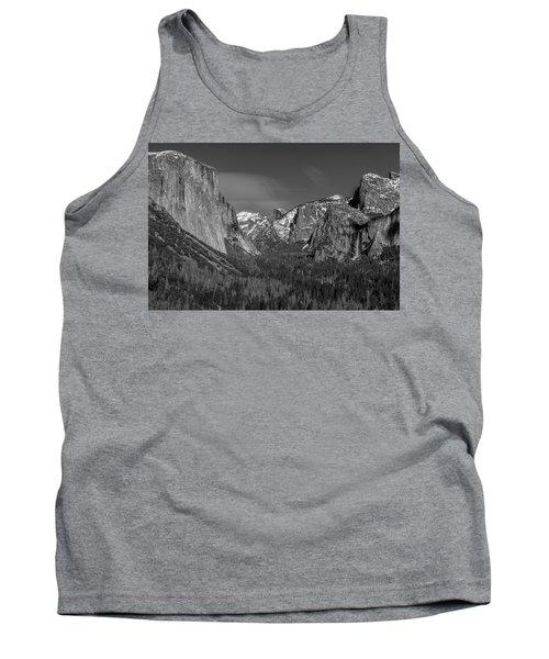 El Capitan And Half Dome Tank Top
