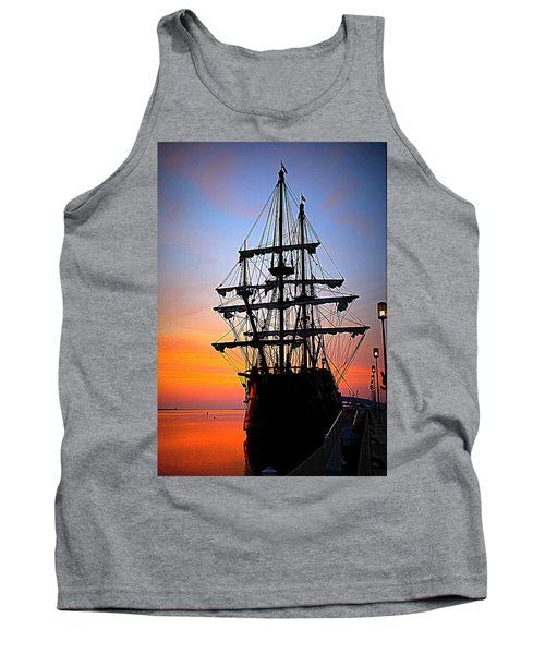 El Galeon At Sunrise Tank Top