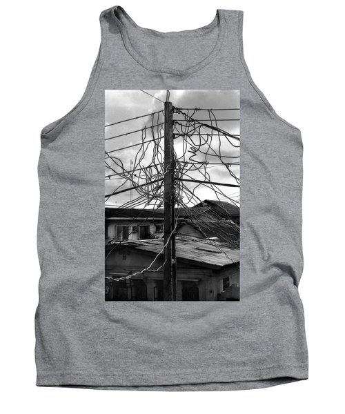 Up Nepa Electricity Pole Tank Top