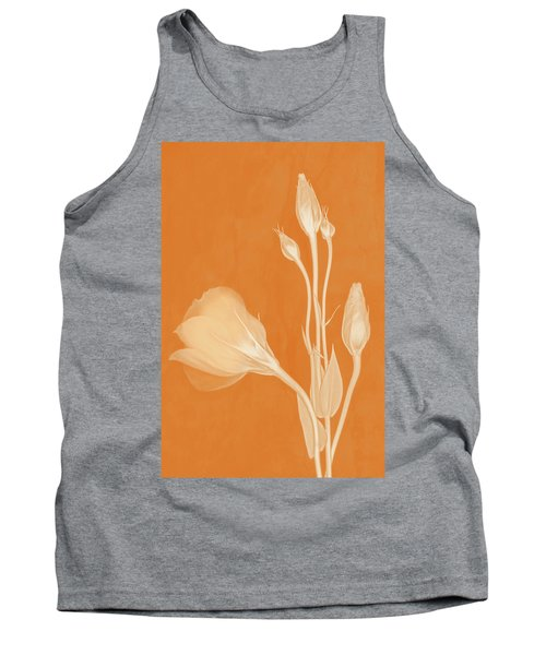 Elegance In Apricot Tank Top