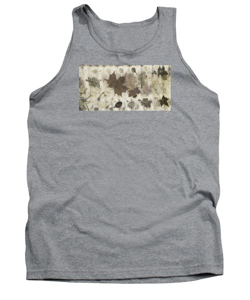 Elements Of Autumn Tank Top by Carolyn Doe