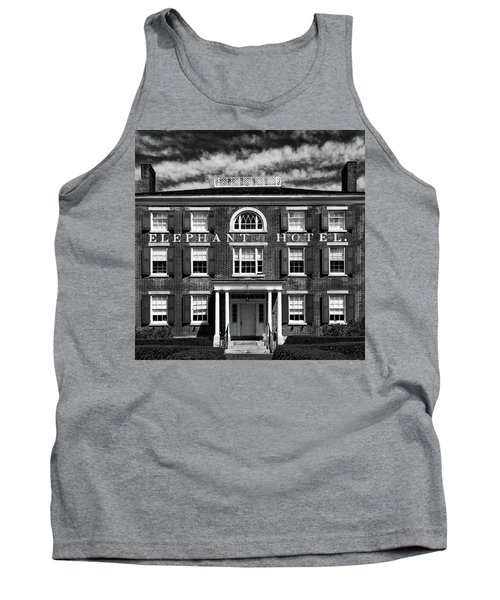 Tank Top featuring the photograph Elephant Hotel by Eric Lake