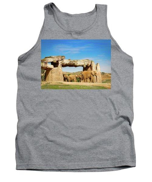 Elephants Tank Top