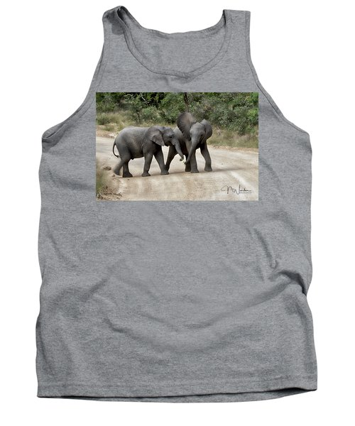Elephants Childs Play Tank Top