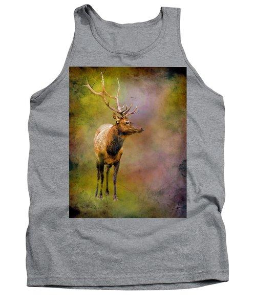 Elk In The Rockies Tank Top