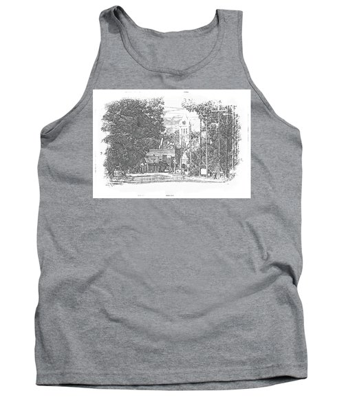 Tank Top featuring the photograph Ellaville, Ga - 1 by Jerry Battle