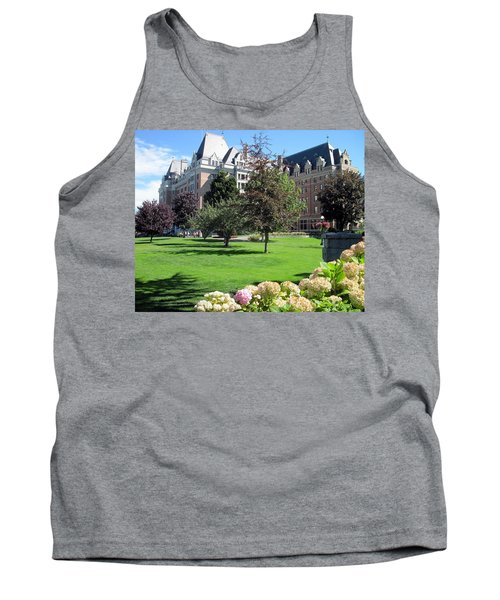 Empress Hotel Tank Top by Betty Buller Whitehead