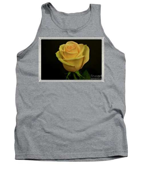 Tank Top featuring the photograph Empress Rose by Marsha Heiken
