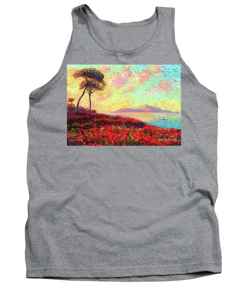 Enchanted By Poppies Tank Top