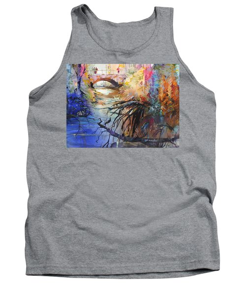 Enchanted Waters Tank Top by P Anthony Visco