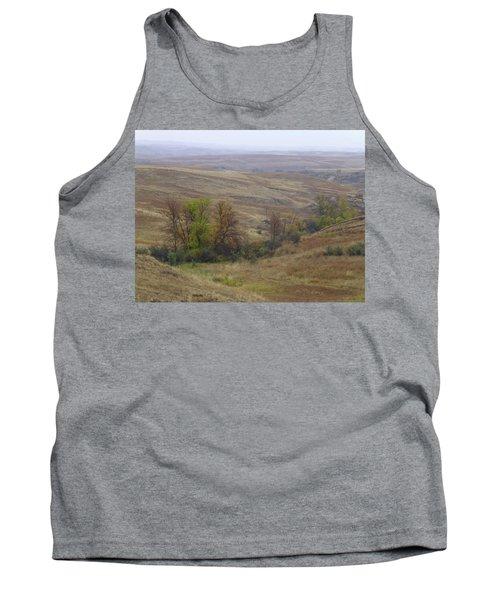 Enchantment Of The September Grasslands Tank Top