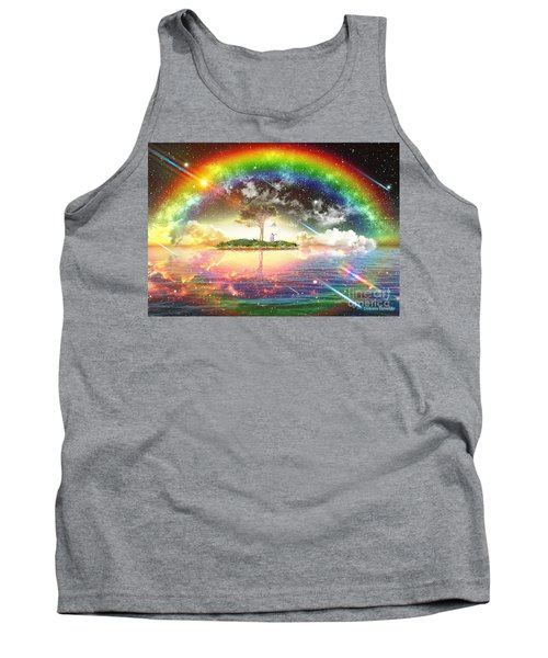 Encountering The Holy Spirit Tank Top by Dolores Develde