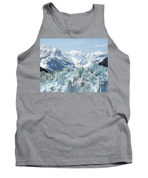 Glaciers End Of A Journey Tank Top