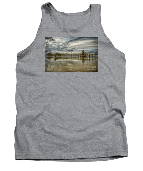 End Of Sunset Surf At Pier Tank Top