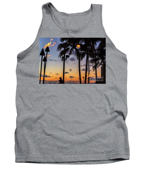 End Of The Beutiful Day.hawaii Tank Top