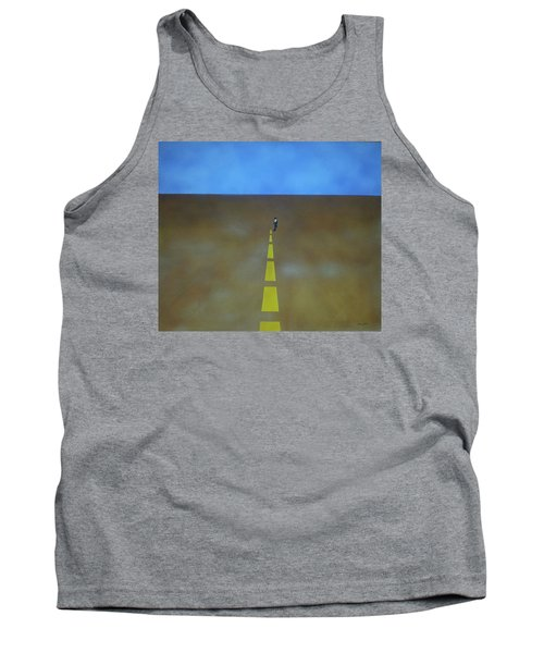 End Of The Line Tank Top by Thomas Blood