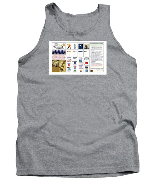 Endgames M And A Djia Tank Top by Peter Hedding