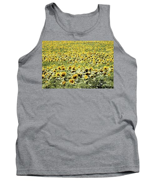 Endless Sunflowers Tank Top