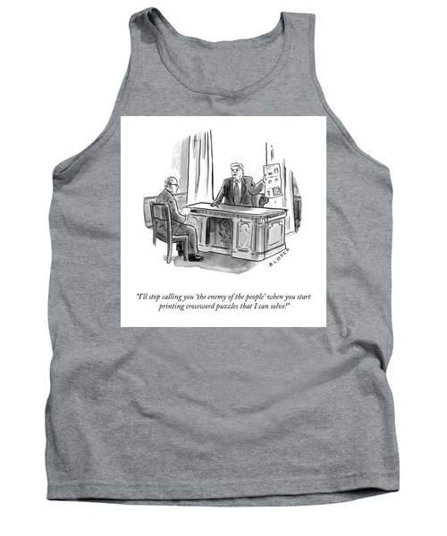 Enemy Of The People Tank Top