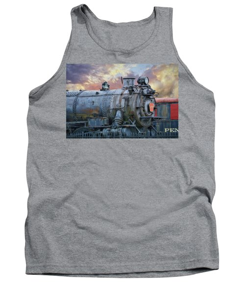 Tank Top featuring the photograph Engine 3750 by Lori Deiter