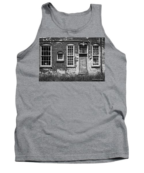 Tank Top featuring the photograph Enough Windows - Bw by Christopher Holmes