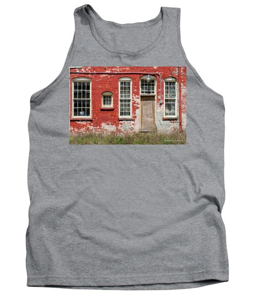 Tank Top featuring the photograph Enough Windows by Christopher Holmes