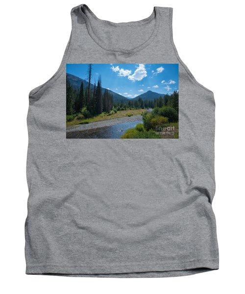 Entering Yellowstone National Park Tank Top