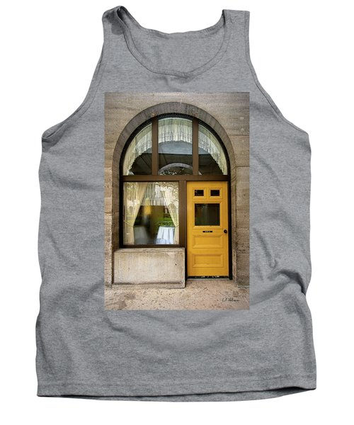 Entry Geometrics Tank Top by Christopher Holmes