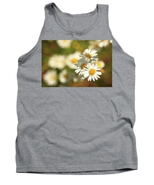 Erigeron Annuus Daisy Like Wildflower Tank Top