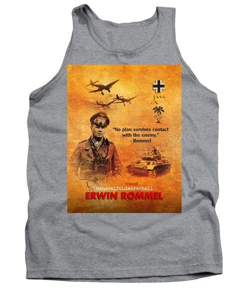 Erwin Rommel Tribute Tank Top