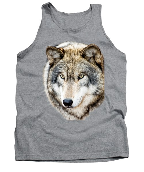 Essence Of Wolf Tank Top by Gary Slawsky