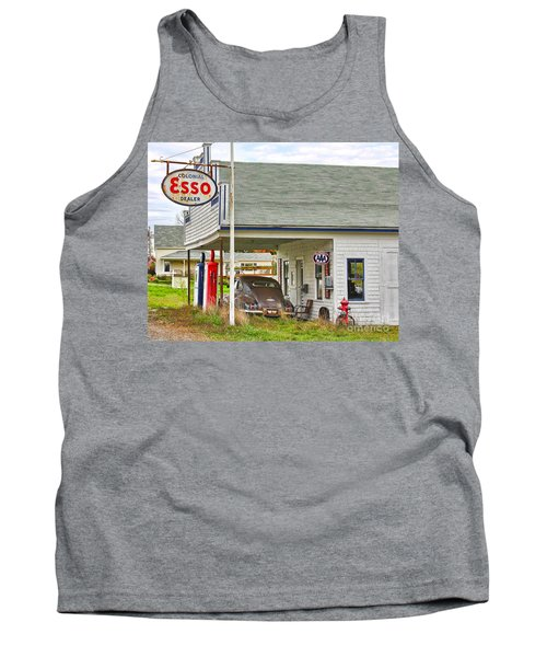 Esso Gas Staion Tank Top