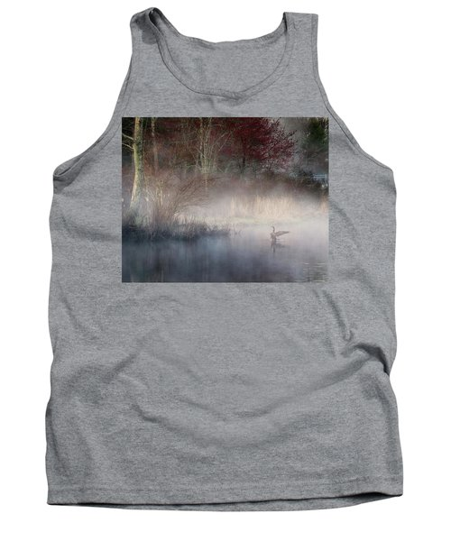 Tank Top featuring the photograph Ethereal Goose by Bill Wakeley
