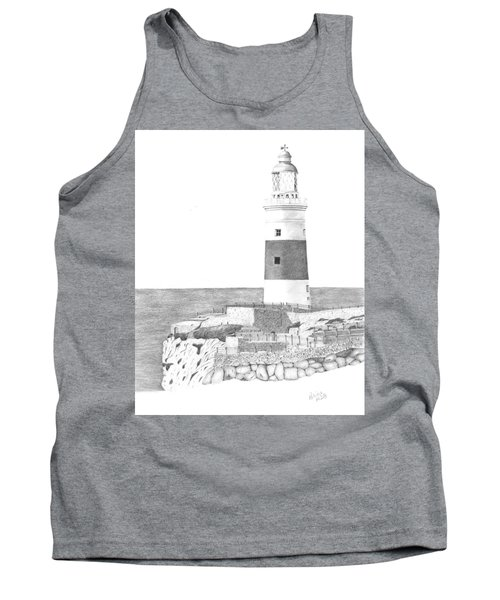 Europa Point Lighthouse Tank Top