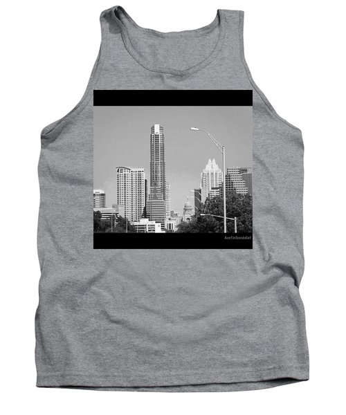 Even In #blackandwhite, The #skyline Of Tank Top