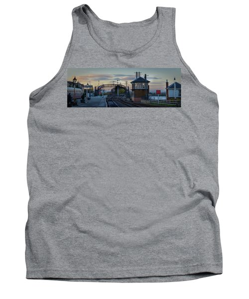 Evening At Bo'ness Station Tank Top