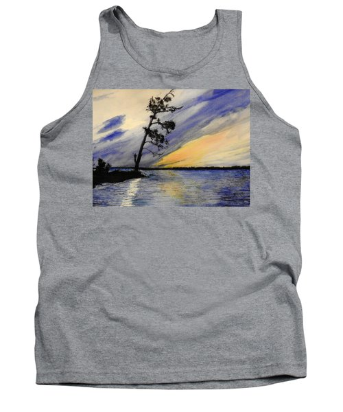 Evening At Petrie Island Tank Top