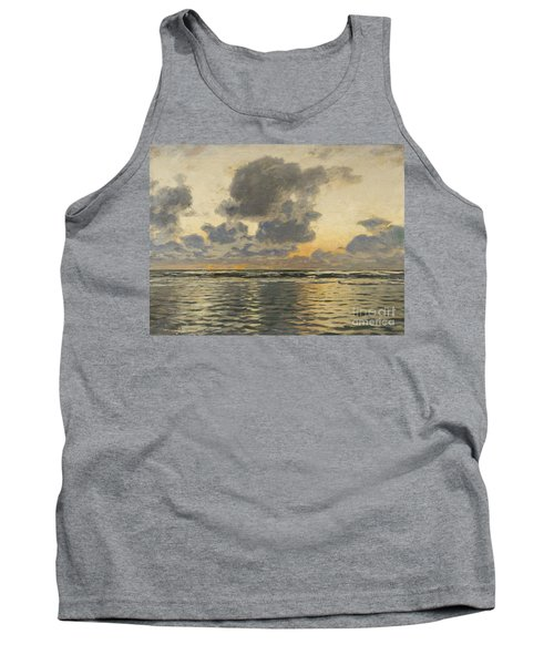 Evening At The Baltic Sea Tank Top