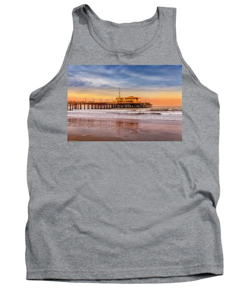 Evening Glow At The Pier Tank Top