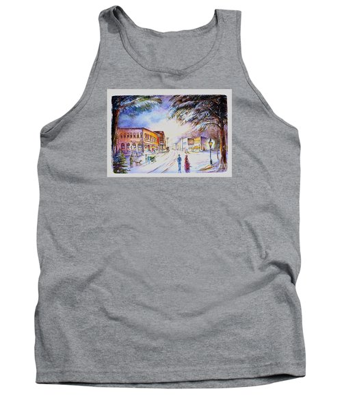 Evening In Dunnville Tank Top by Patricia Schneider Mitchell