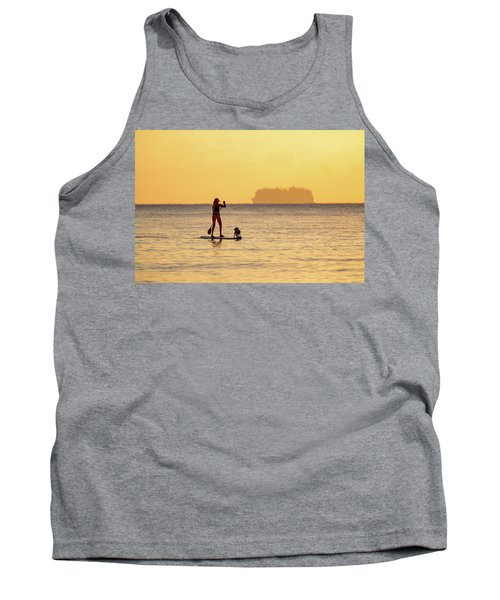 Evening Paddle Tank Top